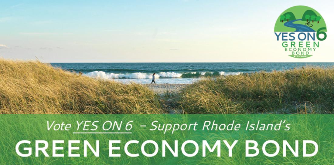 Vote Yes on 6 Green Economy Bond Nov 2016